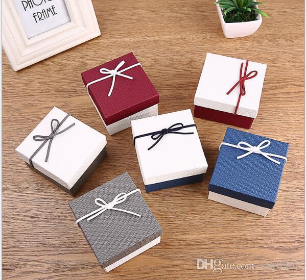 시계 상자 Willby 1pc 리본 bowknot 내구성 선물 상자 시계 케이스 팔찌 팔찌 보석 시계 케이스