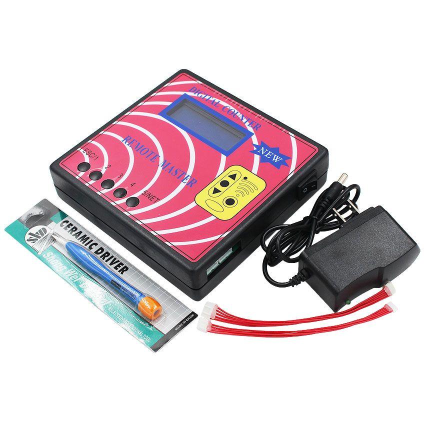 Acartoolservice 5 pc Boa Qualidade Novo Contador Digital Remoto Mestre Medidor de Freqüência Fixa / Rolando Código Copiadora Programador Chave Chave Do Carro Ferramenta