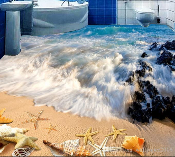 Wallpapers For Bed Room Aesthetic Beach Bathroom Washroom Bedroom Living Room 3d Floor Wall Papers Home Decor Best Desktop Wallpapers Hd Best High Definition Wallpapers From Wallpaper2018 16 59 Dhgate Com