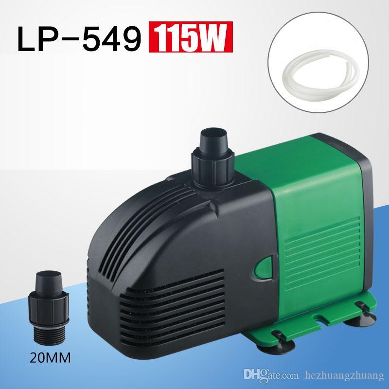 115 W Dalgıç Mini Su Pompası 220 V Balık Tankı Pompası Akvaryum Ücretsiz Nakliye için