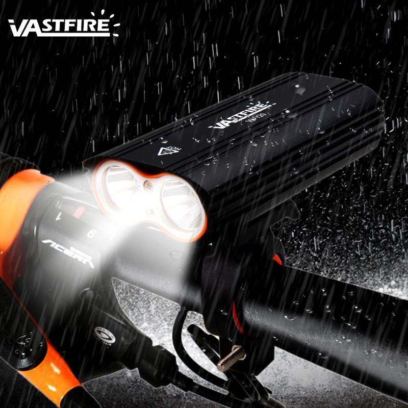 XPG LED Impermeable 4-Mode Frontal bicicleta de la luz del faro USB Recargable