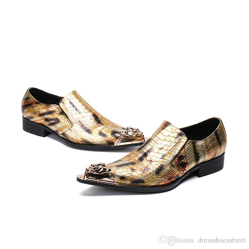 Oxford Schuhe echtes Leder Geschäft Parteikleidschuhe Männer zapatos hombre chaussure homme Herrenschuhe in Übergrößen