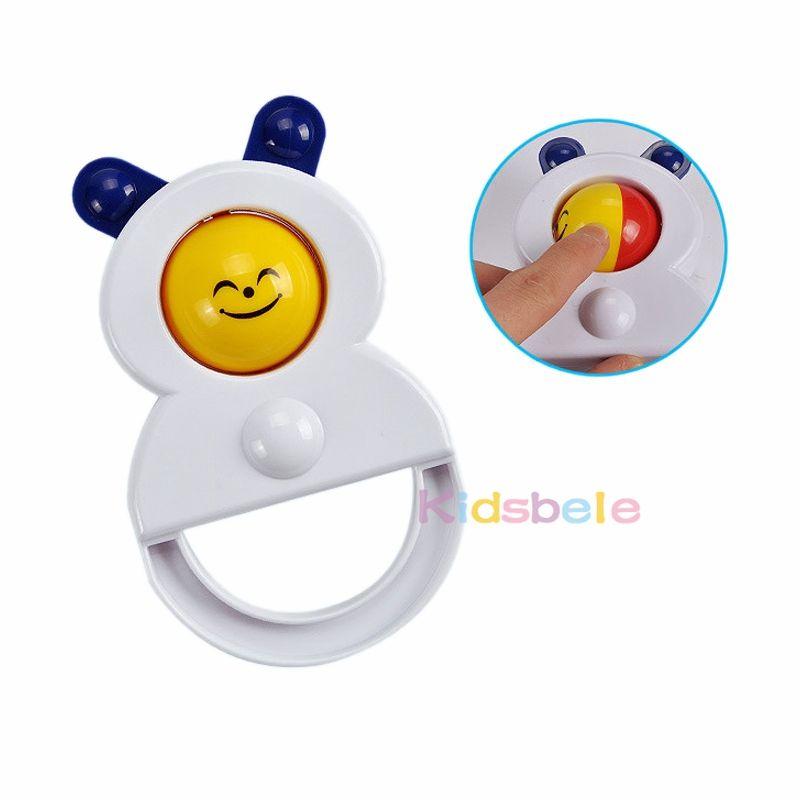 Детские игрушки 5 шт. пластиковая рука звон тряска колокол + Kidsbele детские мягкие нагрудники новорожденных детские игрушки 0 -12 Mnoths прорезыватель погремушки игрушки обучения