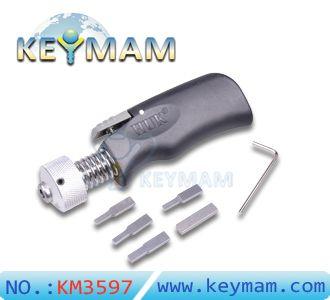 Nuovo HUK Plug Spinner, rapido strumento di pistola girando, HUK Penna tipo Plug Spinner, strumento di selezionamento della serratura, attrezzi del fabbro, apriporta, Plug Spinner, strumento porta