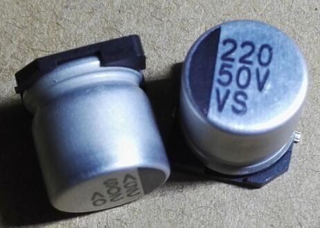 10 SZTUK 50 V 220UF SMD 10x10.5mm Kondensator elektrolityczny aluminium