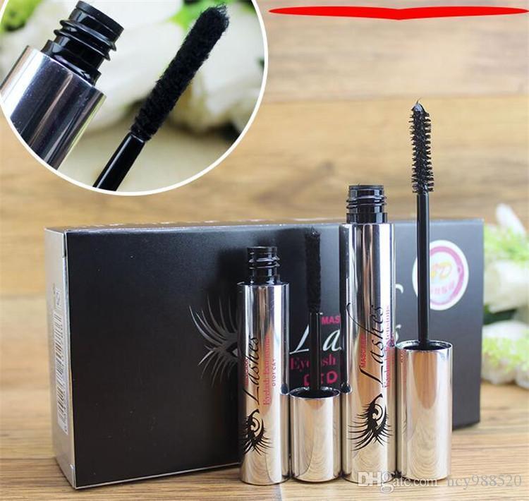 b1d06318952 DDK 4D Silk Fiber Lash Mascara Eyelashes Long Extension Makeup Black  Waterproof Kit Eye Lashes in stock