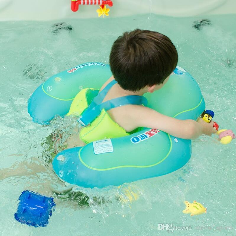 Hot Sale! Baby Swimming Ring floating Children Waist Inflatable Floats Swimming Pool Toy for Bathtub and Pools Swim Trainer