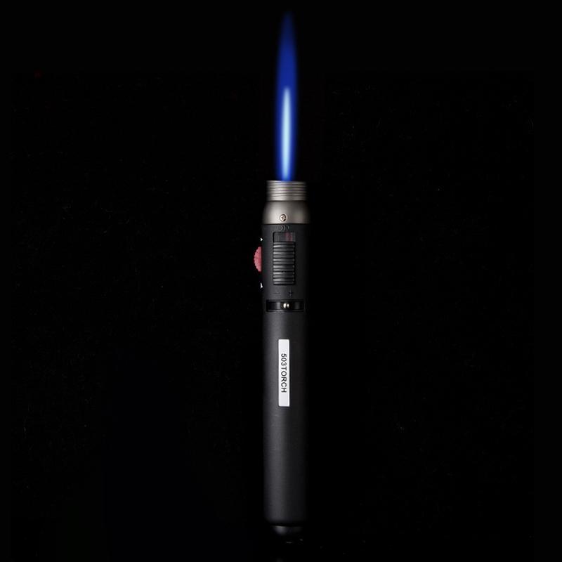 1300 degree Torch Jet Flame Pencil Butane Gas Fuel Welding Soldering Pen Gun Butane Burner Gas Adapter Torch outdoor Lighter