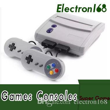 16 Bit Super Mini SFC Spielekonsole Entertainment System 64 Klassische Spiele für SNES mit 2 Controllern