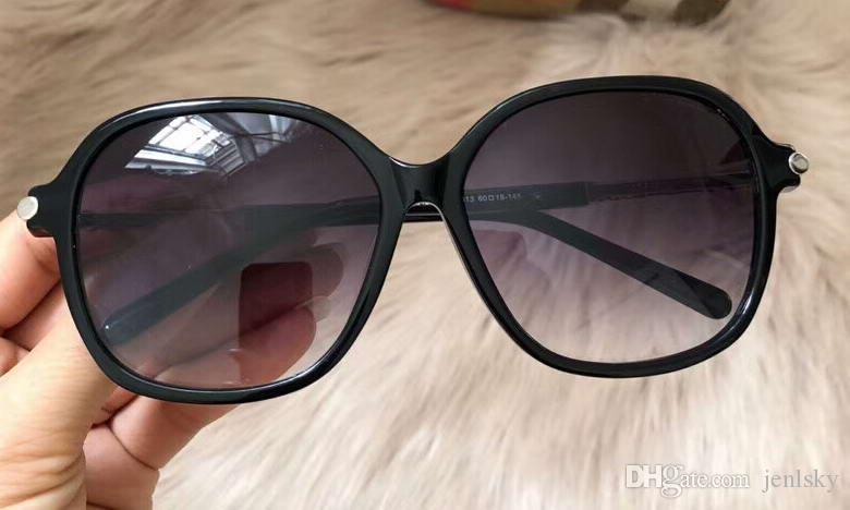 BE 4228 Óculos De Sol De Grandes Dimensões Moldura Preta / Lente de Fumaça Cinza Sonnenbrille occhiali da sole Designer De Luxo óculos De Sol óculos Mulheres Nova caixa wth