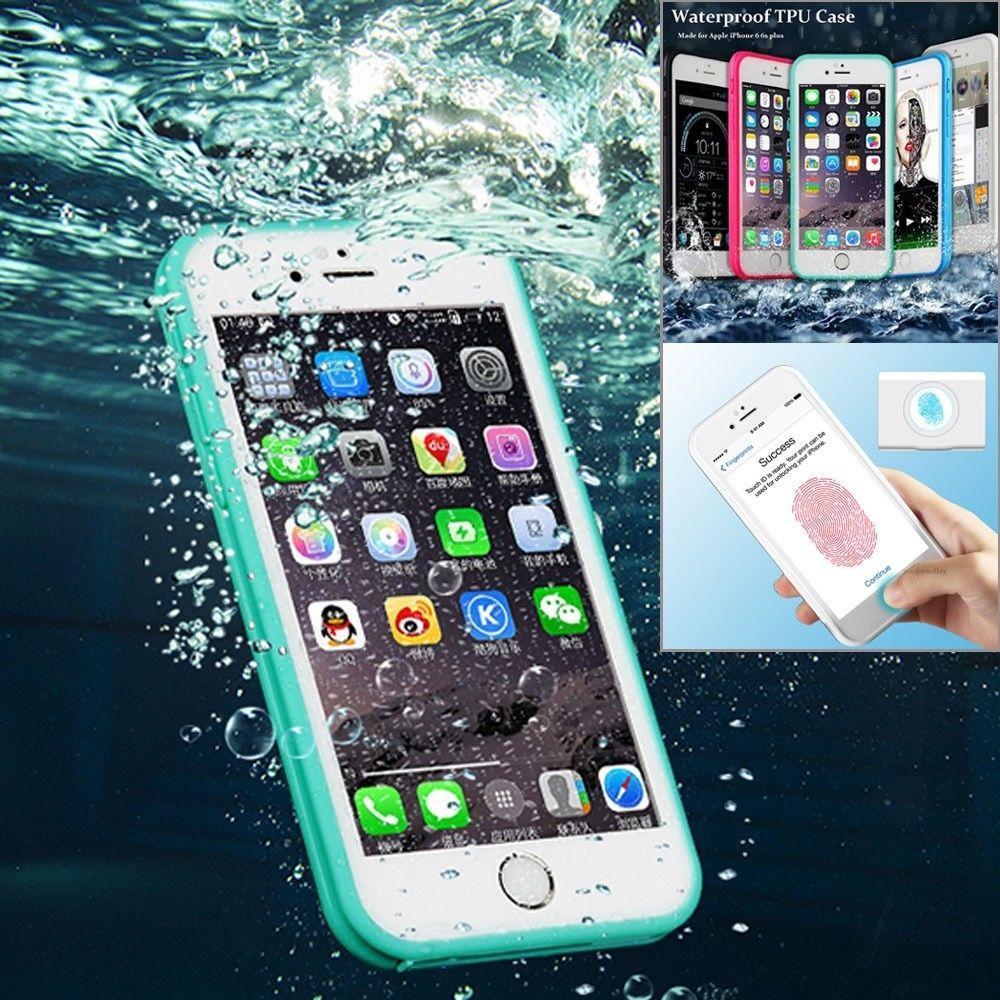 Funda impermeable de goma a prueba de choques del defensor TPU para iPhoneX / 8 8 Plus 7/7 Plus FUNDA PARA TELÉFONO