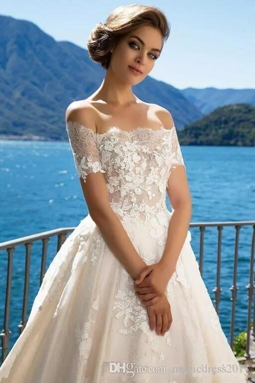 Discount Milla Nova 2018 Off The Shoulder Elegant Wedding Dresses ...