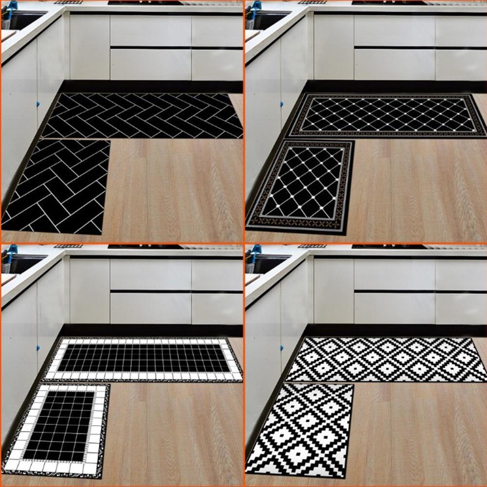Acquista Tappeti La Casa E La Cucina Tappeti Moderni Tappeto Antiscivolo  Zerbini Zerbini Ingresso 15.7 * 23.6 Pollici + 15.7 * 47.2 Pollici A $15.07  ...