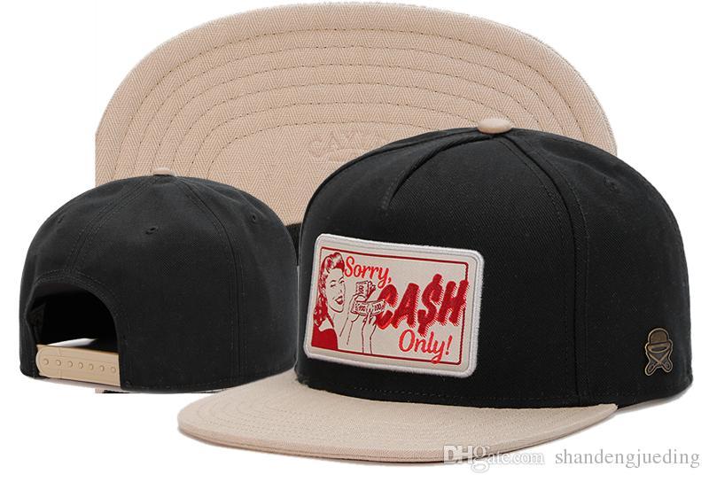 Najnowsza dobra jakość New Arrivals Cayler Sons Rockstar Dopasowana kolekcja na polu Snapback Cap Fashion Hat Hip Hop Caps Kapelusze baseballowe Kapelusze