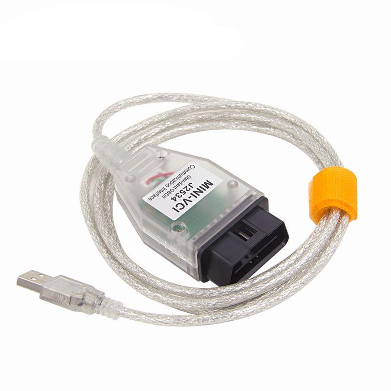 Ultima versione V13.00.022 Interfaccia MINI VCI PER TOYOTA TIS Techstream minivci FT232RL Chip J2534 OBDII OBD2 strumento diagnostico