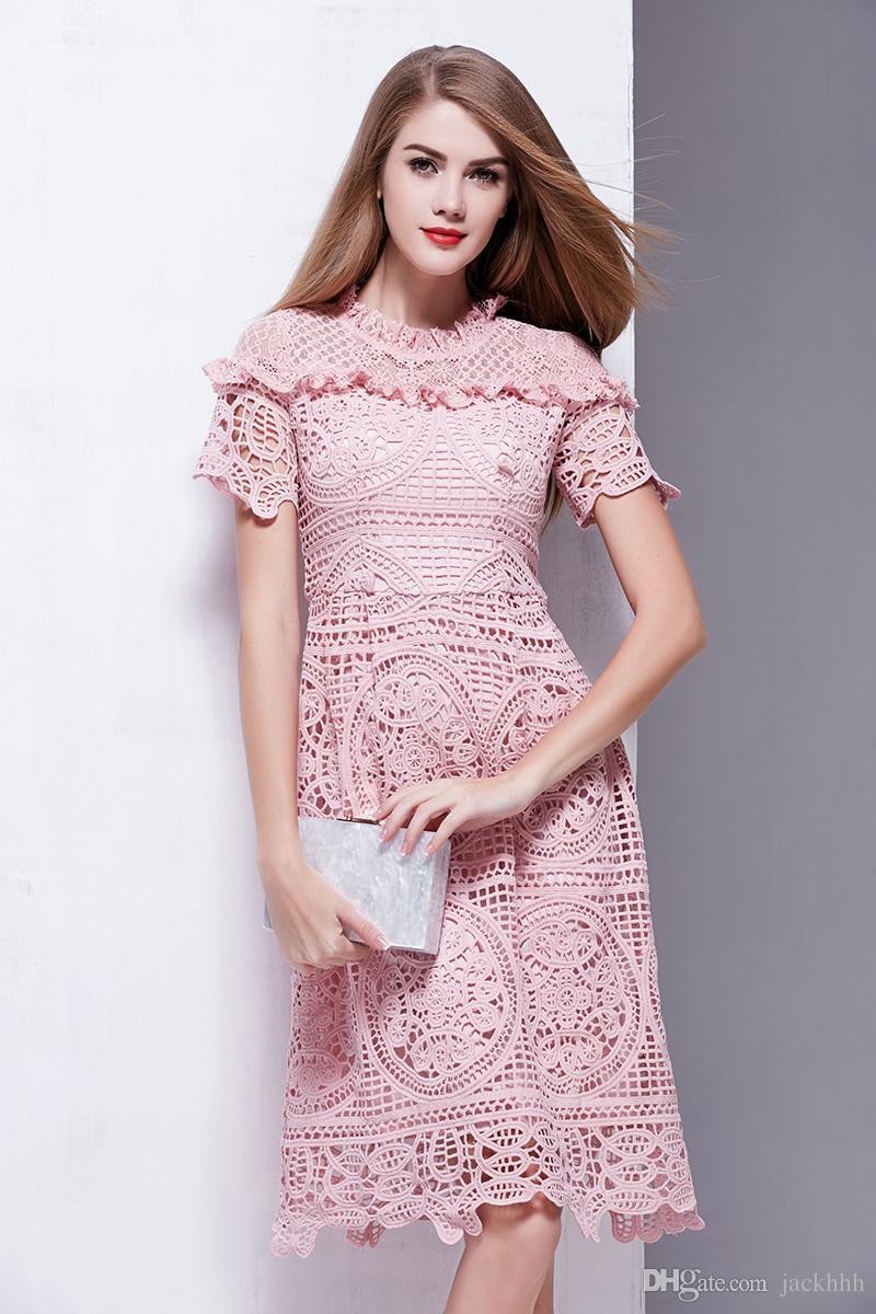 Großhandel Fantastisches 2018 Marke Frauen Einteiliges Kleid Marke ...