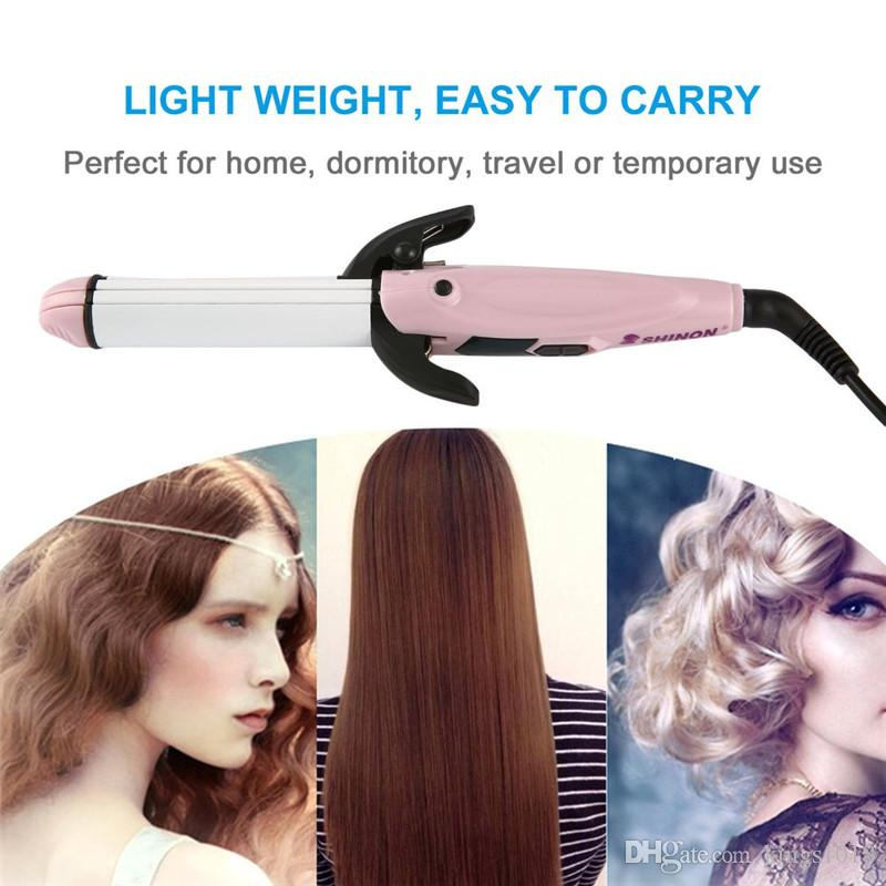 high quality Multifunctional Hair Curling Iron Electric Hair Stick Wave Roller Curlers Heating Up Hair Styling Tools Curling Wand Roller