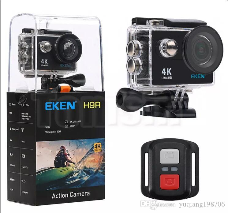 Original EKEN H9R with remote control Ultra HD 4K WiFi HDMI 1080P 2.0 LCD 170D pro Sports camera waterproof