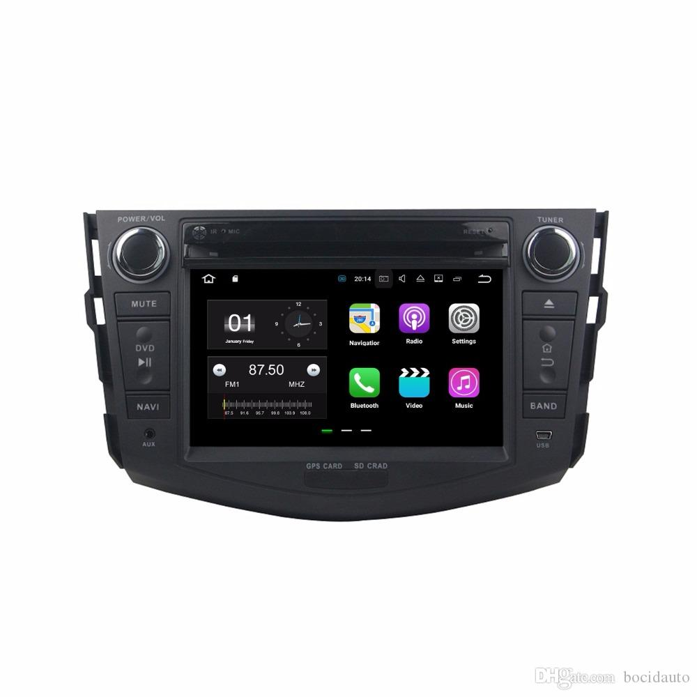 "2GB RAM Quad Core 2 din 7"" Android 7.1 Car DVD Player for Toyota RAV4 2006-2012With GPS Radio Bluetooth WIFI 16GB ROM USB DVR"