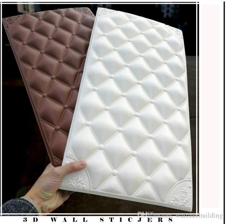 20pieces 60x30cm Brand NEW 3D PE Foam Brick Self-adhesive Home Wall Sticker 3D wall panel Home Room Decor