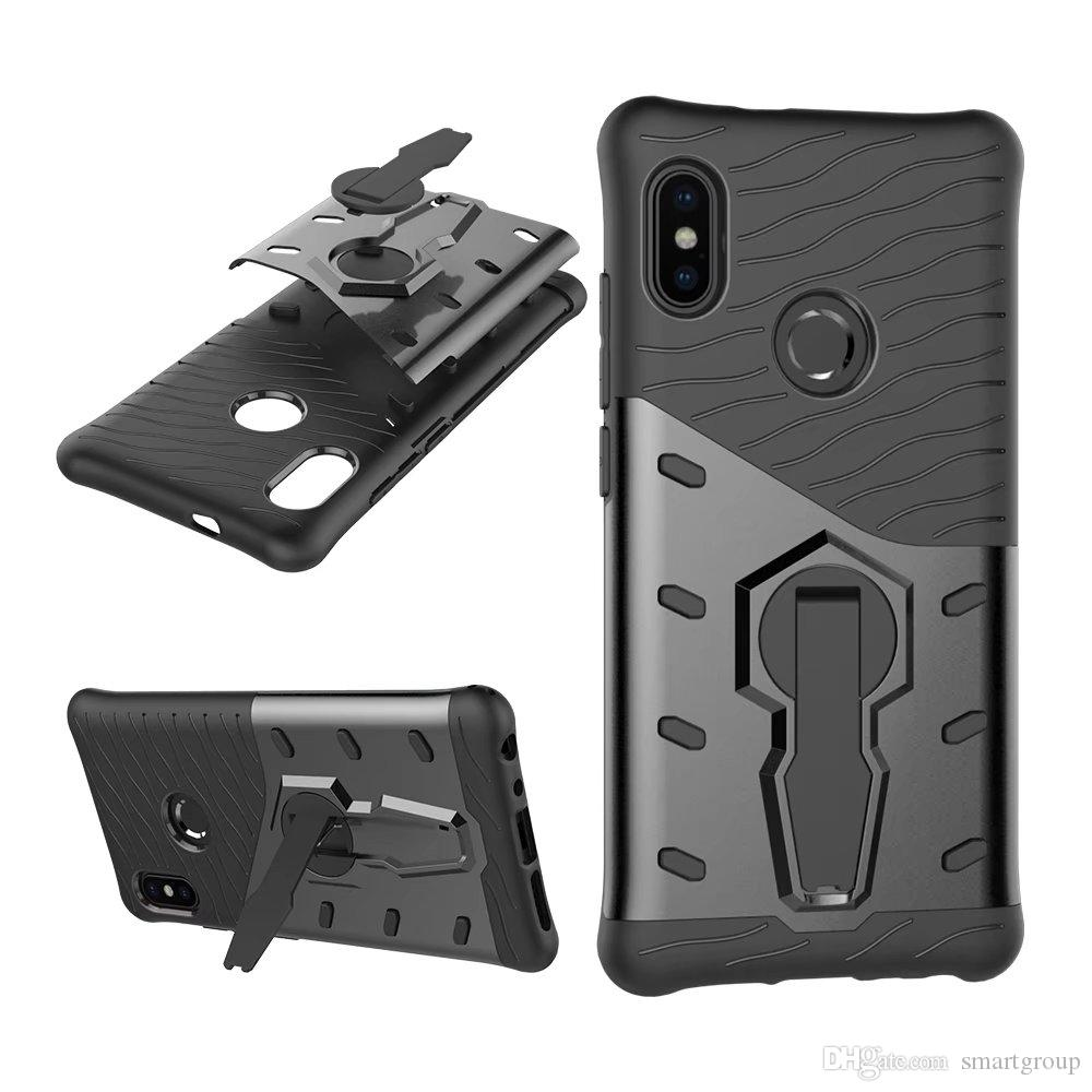 size 40 660c5 6a919 For Xiaomi Redmi Note 5 Pro Case Rugged Combo Hybrid Rotation Impact  Holster Protective Cover For Xiaomi Redmi Note 5 Pro Cool Cell Phone Cases  ...