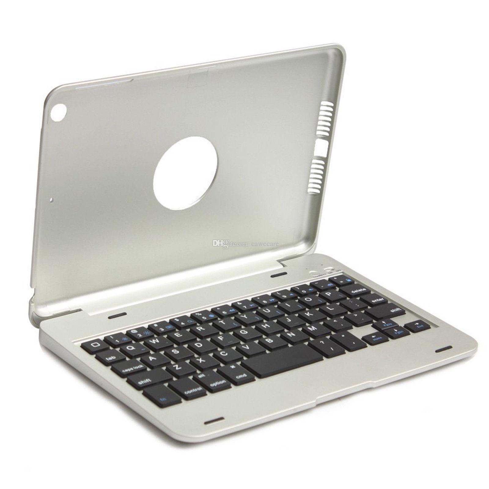 Cubiertas plegables inalámbricas del teclado de Bluetooth 3.0 Soporte de la cubierta para el cojín Mini 3/2/1 C081 Opciones multicoloras ABS