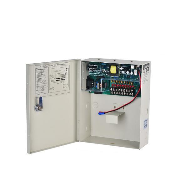 Uninterrupted CCTV power supply box 9CH 18CH 12V 10A Uninterrupted 9 Channel 18Channel for CCTV Camera
