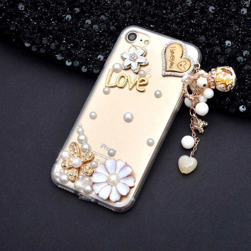 For xiaomi Max 2/Mix 2s/mi6X/5X/A1/A2 Crystal Diamond Cover+3D Bling Rhinestone Phone Case For Redmi 5 plus/4A/4x/Note 4x/5A Pro