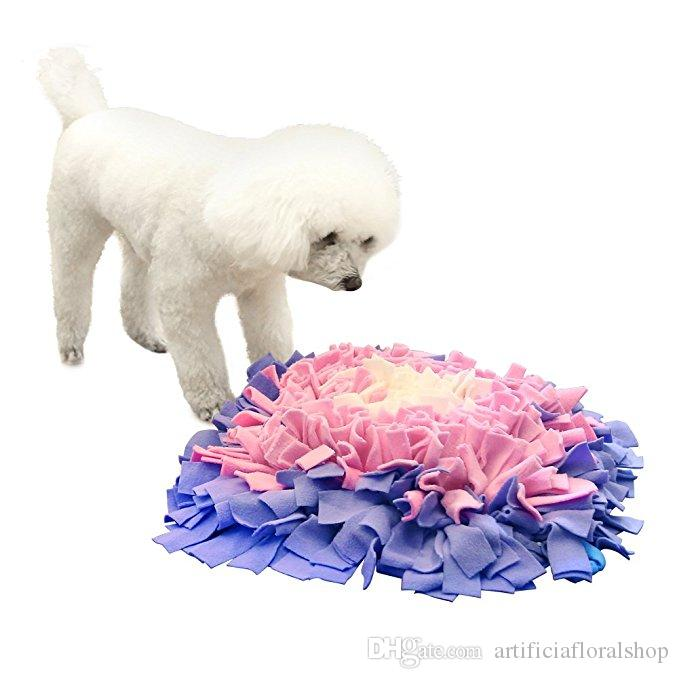 Dog Snuffle Mat Feeding Mat Training Mat Nosework Blanket Pet Play Toy Encourages Natural Foraging Skills- Perfect for Any Breed
