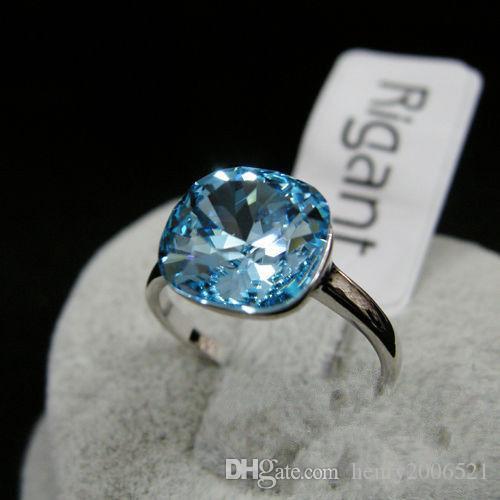 Enchantmenbanquet Anniversary 18K rose gold 4 ct wedding ceremony ring size 8