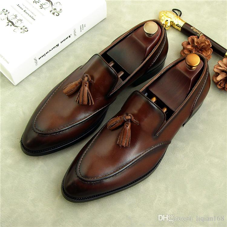Men Womens Loafers Mens Leather Boots