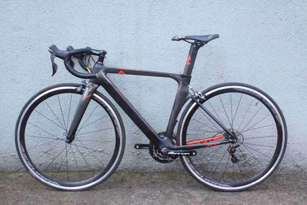 Carbon complete bike road bike frame alloy wheeslet high quality best price T800 4700 groupset 22 speeds BSA /BB30