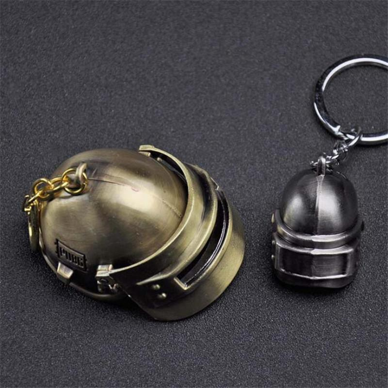 2019 Hot Pubg Game Helmet Keychain Car Key Chain 2 Size Key Rings Black Bronze Game Jewelry For Gift From Moviejewellry 318 Dhgatecom