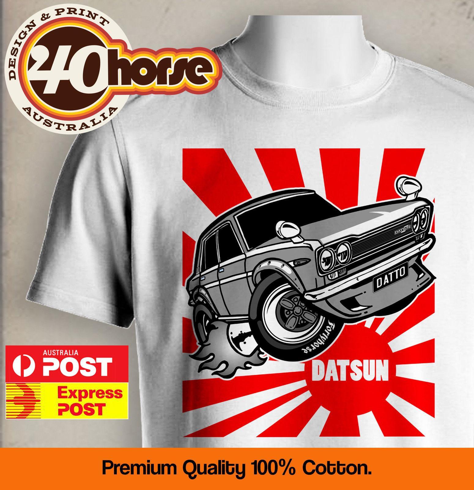 Japanese Car Shirt Datsun 1600 Rising Sun
