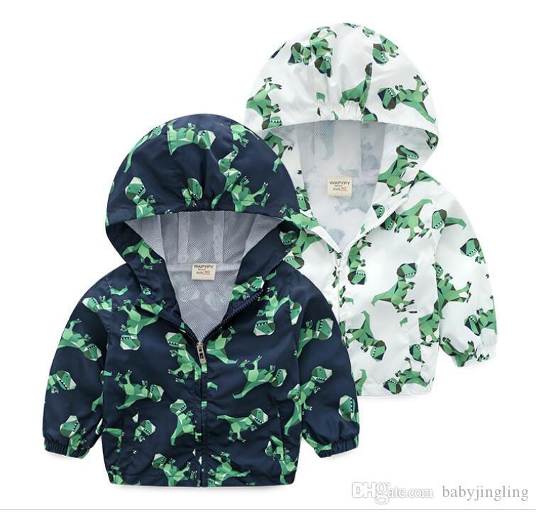 2019 ilkbahar sonbahar grafiti ceket çocuk kapüşonlu çocuklar ceket erkek giyim mont aktif erkek rüzgarlık bebek giyim giyim