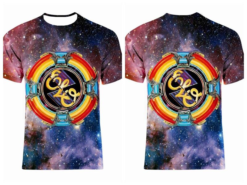 Electric Light Orchestra 100/% Cotton ELO rock Mens t shirt all size