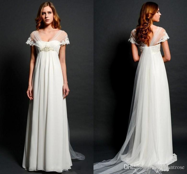 Gown with Empire Waist