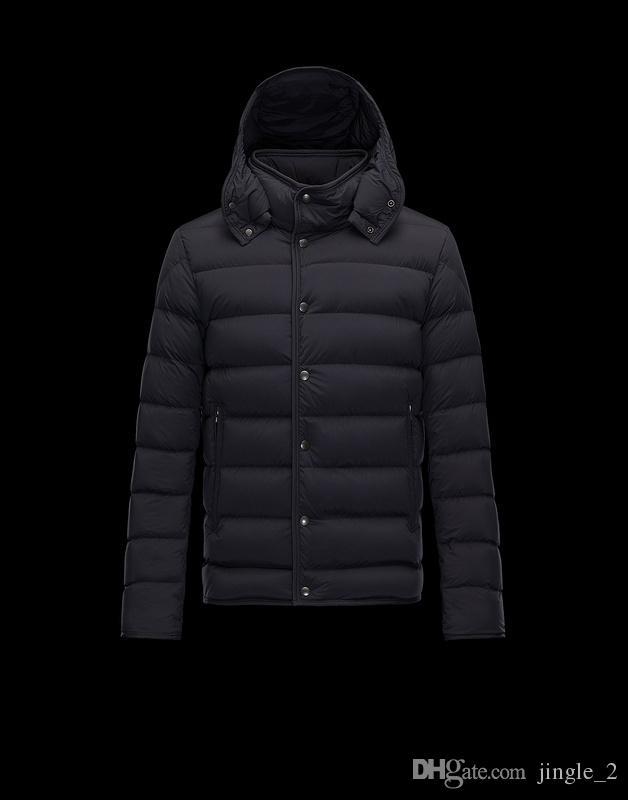 Piumino invernale da uomo Nuovo 95% Piumino d'oca bianca con cappuccio Marchio di abbigliamento di alta qualità maschile Giù Parka 109