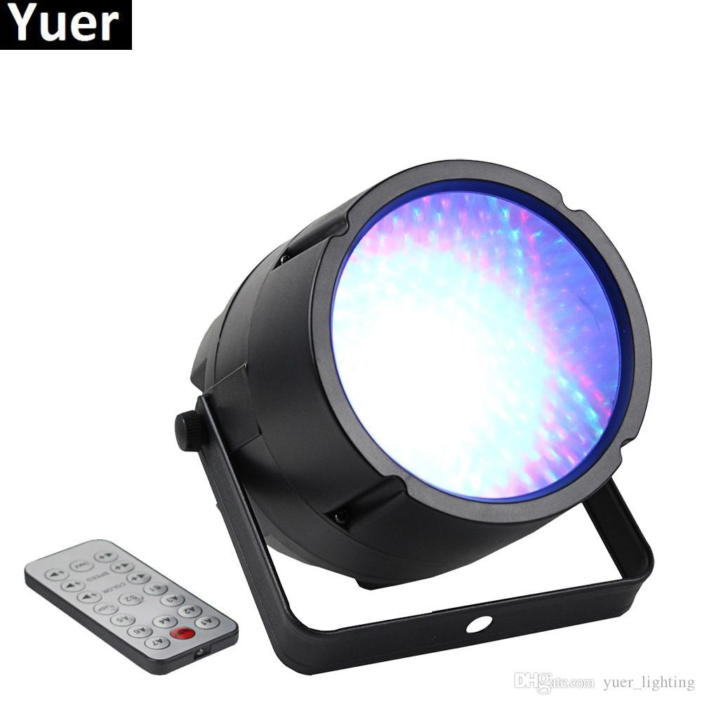 NEW Professional LED Vision Magic Par Stage Lighting Effect DMX 512 Master-Slave Led Flat For DJ Disco Party KTV