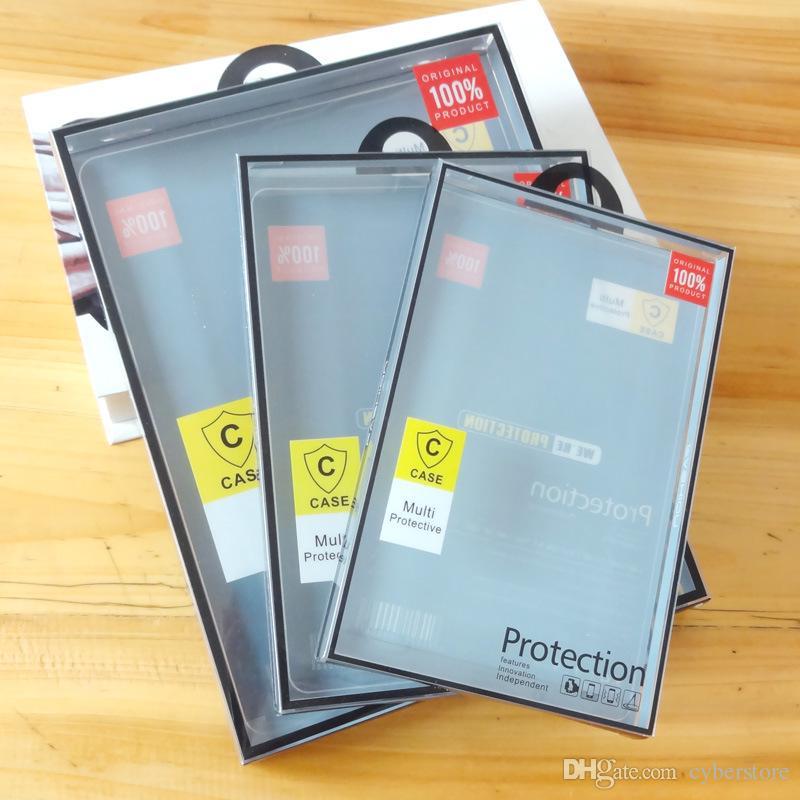 Universal PVC Retail Package Plastic Packaging Box Boxes For iPad Air 2/3/4 Mini Pro 10.5 2017 Samsung Tab