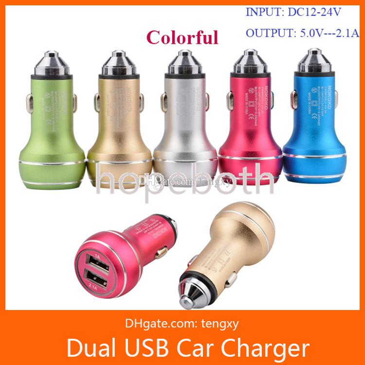 5V 3.1A Fast Charge Safty Hammer Auto Universal Metal 2-ports Dual Car Charger Adapter Emergency Hammer For iPhone Samsung cell phone