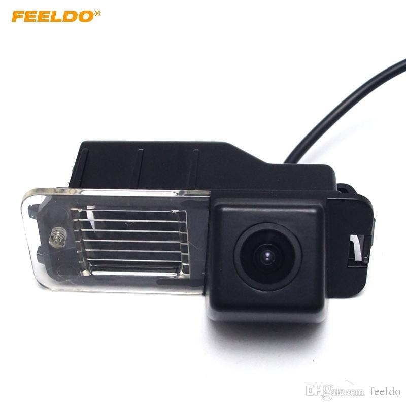 FEELDO Car Backup Rear View Car Camera For Volkswagen Golf6/Magotan/Beetle/SCIROCCO/BORA/POLO/PASSAT B7 #4828