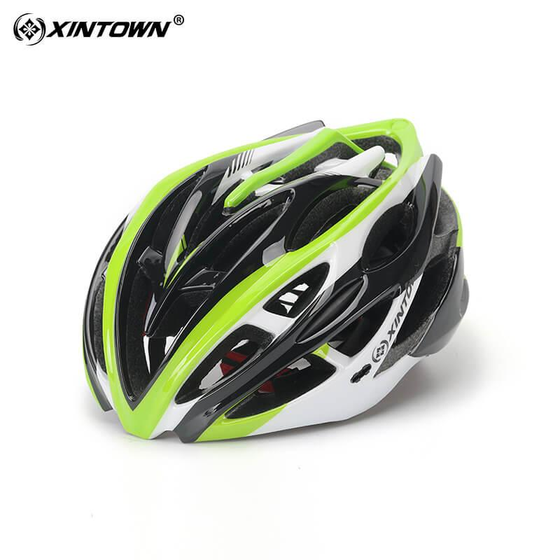 XINTOWN Safety Bicycle Helmets Light Men Women 57-62cm Helmet Polishing Mountain Road Bike Integrally Molded Cycling Helmets