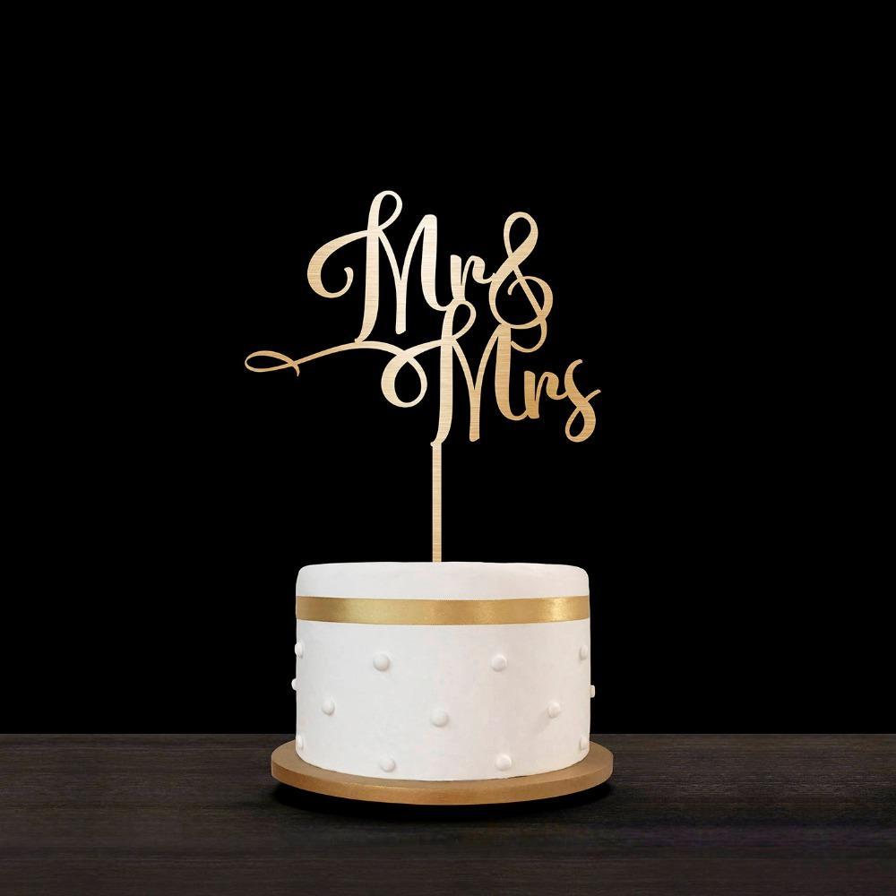 Mr and Mr Wedding Cake Topper Personalizar Wedding Cake Topper, Personalized Cake Topper para la fiesta de compromiso