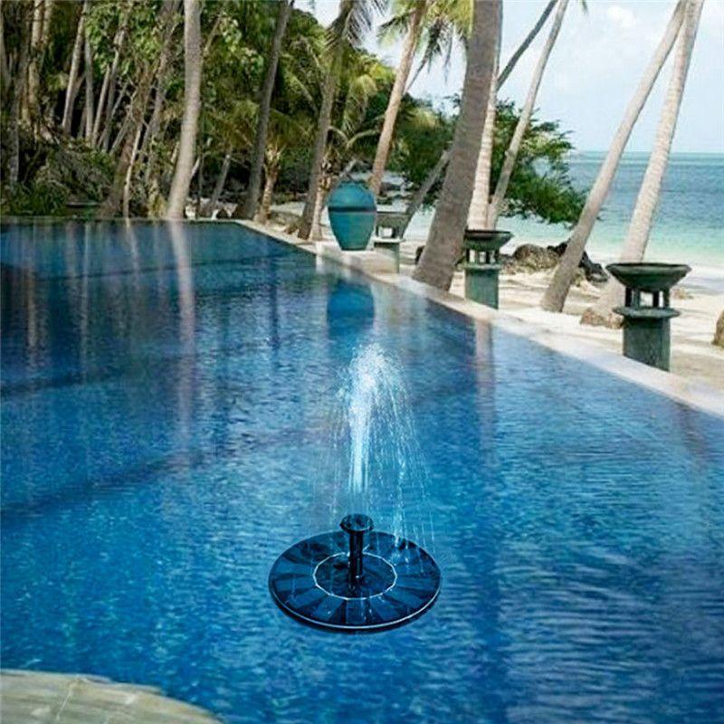 Fonte solar, Keebgyy Solar Powered Bird Bath Fountain Fonte 1.4W Fonte Solar Ao Ar Livre Solar para o Pátio Jardim