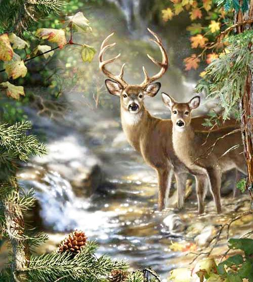 A1286 Deer 45*50CM 5D Diamond Embroidery paint Home Decor Diamond Cross stitch 100% Resin Tool dril Painting Cross Stitch Mosaic Needlework