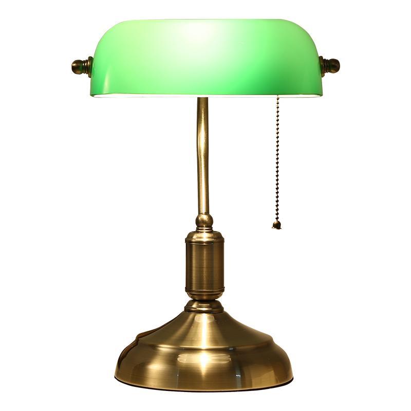 Acquista Lampada Da Tavolo Classica In Vetro Lampada Da Tavolo