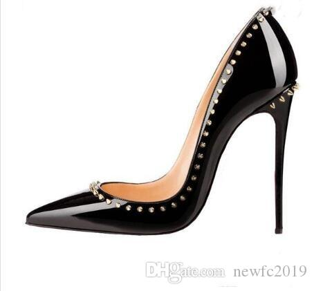 Luxury Brand Red Bottom Pointed Shoes