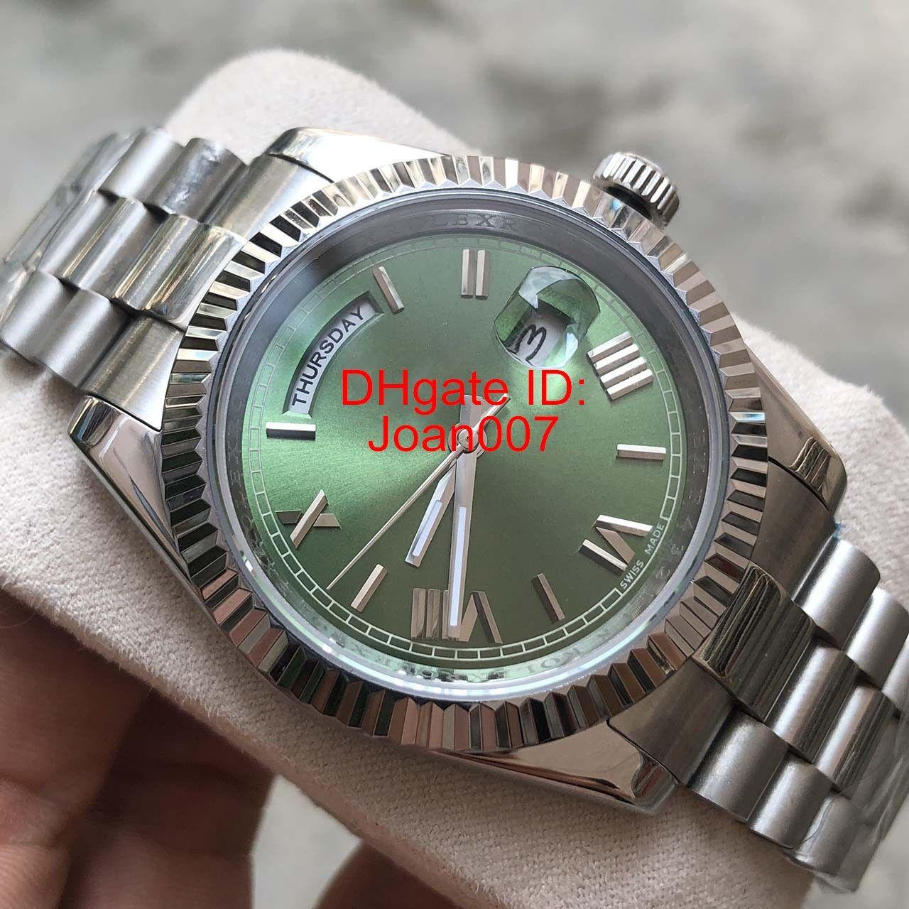 Haute qualité Watch Homme Président Montre Sweep Mouvement automatique Sapphire Mécanique Fermoir Original Montres 41mm