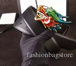 2018 Cinturones de hebilla de moda caliente para los hombres cinturones de diseño de marca de cuero genuino cinturones de lujo Cinturón de hombres de alta calidad con caja
